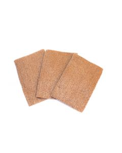 Mini Bronze Wool Pads – Pack of 3